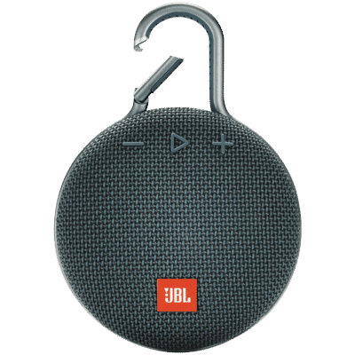 JBL - Clip 3 Portable Bluetooth Speaker with Carabiner - Blue
