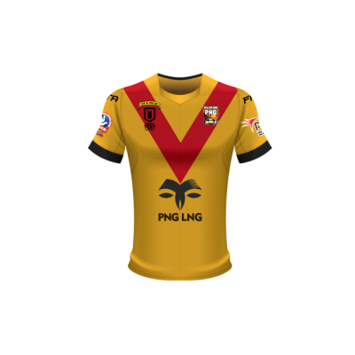 PNG Kumuls Pacific Test Jersey