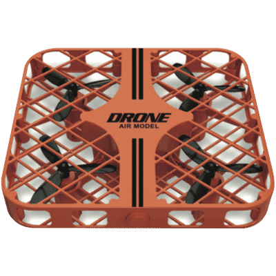 Compact Air Toy Drone - Orange